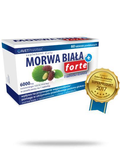 Morwa Biała Plus Forte 60 tabletek