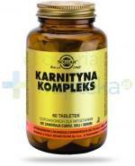 SOLGAR Karnityna kompleks 60 tabletek Z TYM PRODUKTEM DOSTAWA GRATIS!