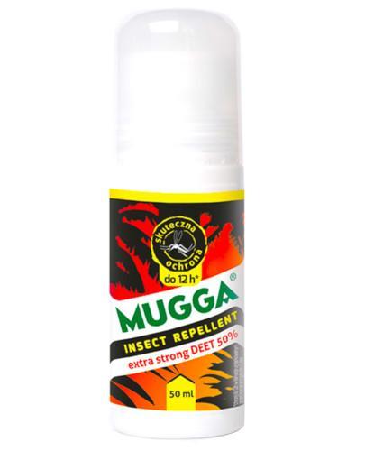 Mugga roll-on z 50% DEET na komary tropikalne i moskity 50 ml