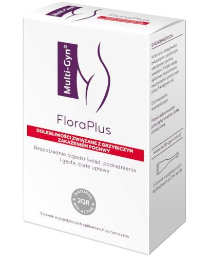 Multi-Gyn FloraPlus żel dopochwowy 5 aplikatorów  whited-out