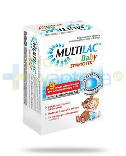 Multilac Baby Synbiotyk probiotyk + prebiotyk 10 saszetek