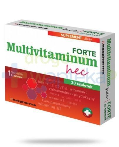 Multivitaminum Hec Forte 30 tabletek  whited-out