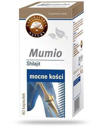 Mumio Shilajit Mocne kości 60 kapsułek