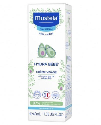 Mustela Bebe Enfant Hydra krem do twarzy 40 ml