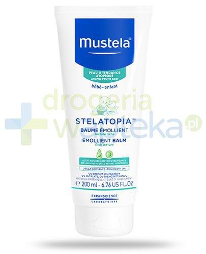 Mustela Stelatopia balsam emolient do skóry skłonnej do atopii od dnia narodzin 200 ml