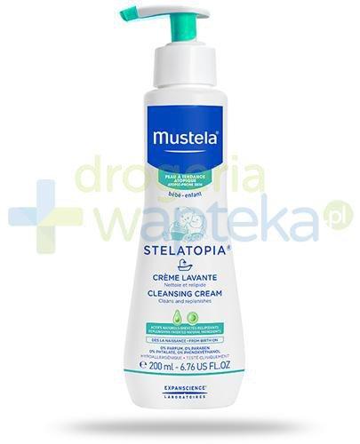 Mustela Stelatopia krem myjący do skóry skłonnej do atopii od dnia narodzin 200 ml