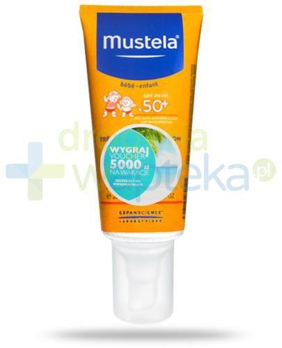 Mustela Sun mleczko przeciwsłoneczne o wysokiej ochronie SPF50+ 200 ml