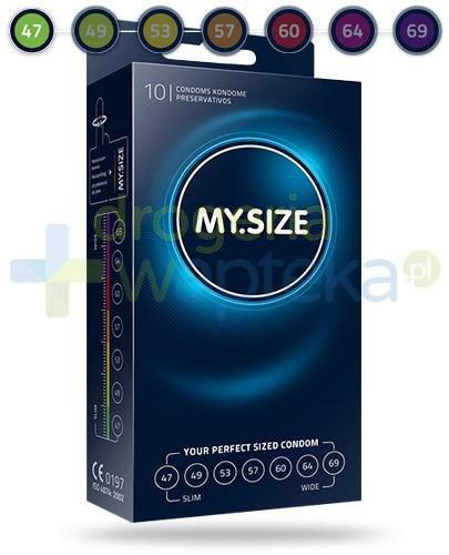MY.SIZE 47 prezerwatywy 10 sztuk