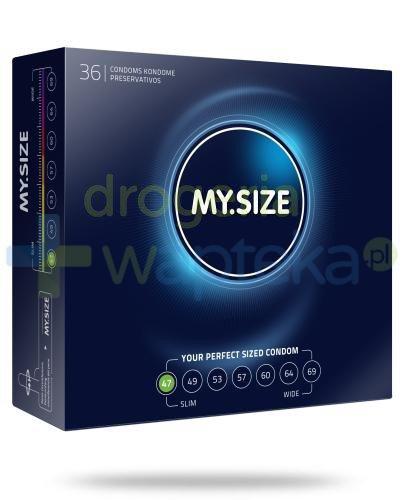MY.SIZE 47 prezerwatywy 36 sztuk