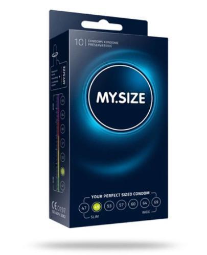 MY.SIZE 49 prezerwatywy 10 sztuk