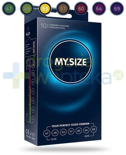 MY.SIZE 53 prezerwatywy 10 sztuk