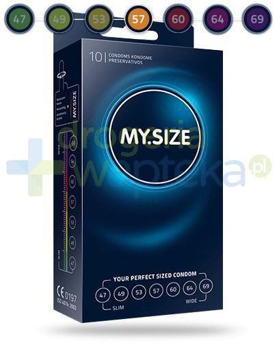 MY.SIZE 57 prezerwatywy 10 sztuk