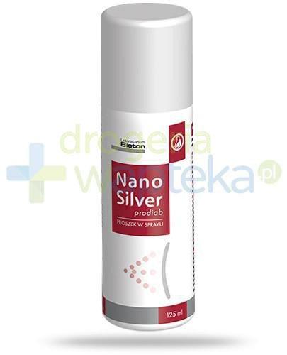 Nano Silver prodiab proszek w sprayu 125 ml