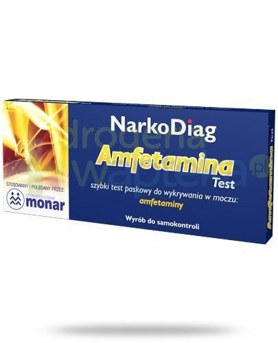 NarkoDiag test paskowy na amfetaminę 1 sztuka