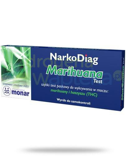 NarkoDiag test paskowy na marihuanę 1 sztuka