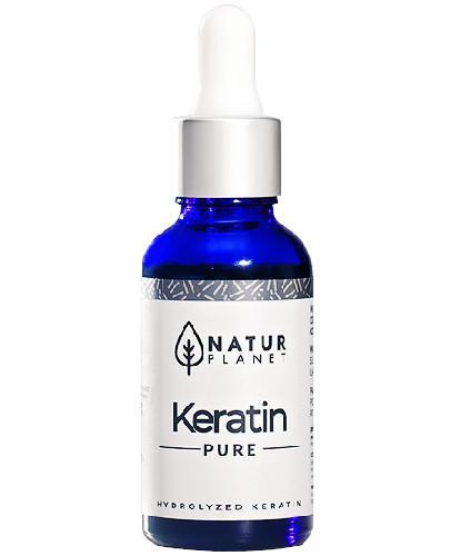 Natur Planet Keratin Pure 100% serum z hydrolizatem keratyny, żel 30 ml