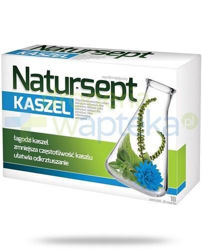NaturSept Kaszel 18 pastylek