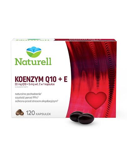 Naturell Koenzym Q10 30mg + witamina E 5mg 120 kapsułek