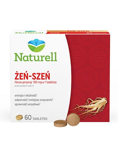 Naturell Żeń-szeń 100mg 60 tabletek