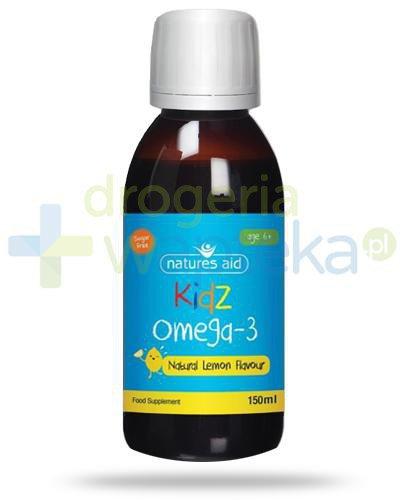 Natures Aid Kidz Omega-3 płyn dla dzieci 6+ 150 ml
