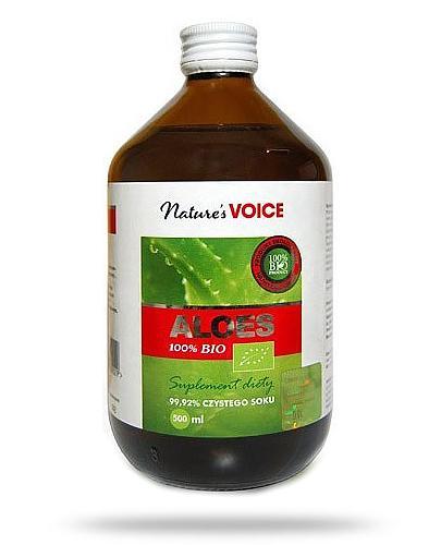 Natures Voice Aloes 100% bio 500 ml