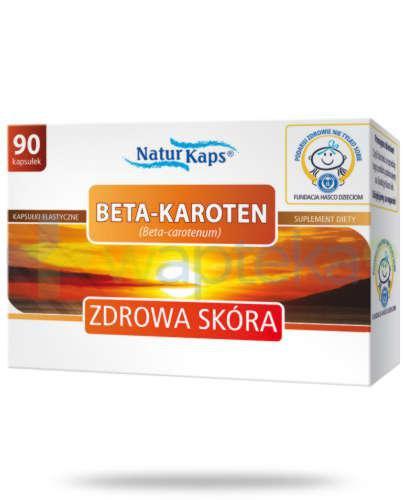 Naturkaps Beta-Karoten 90 kapsułek