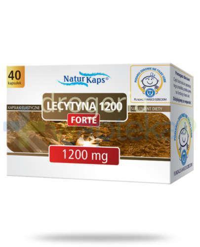 Naturkaps Lecytyna 1200 Forte 40 kapsułek