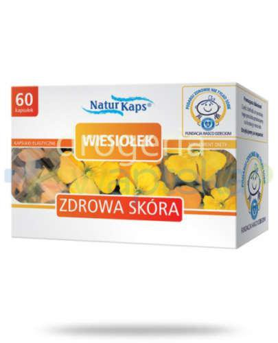 Naturkaps Wiesiołek 60 kapsułek  whited-out