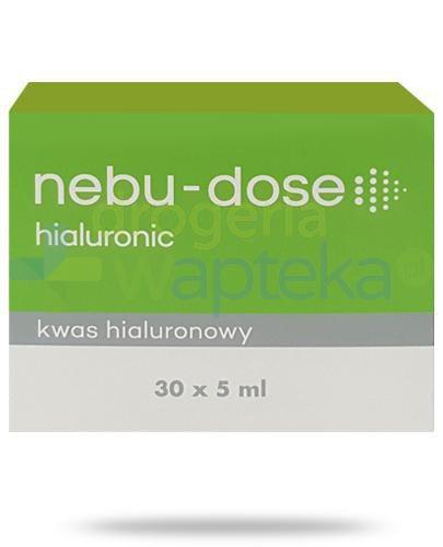Nebu-Dose hialuronic roztwór izotoniczny 30 ampułek