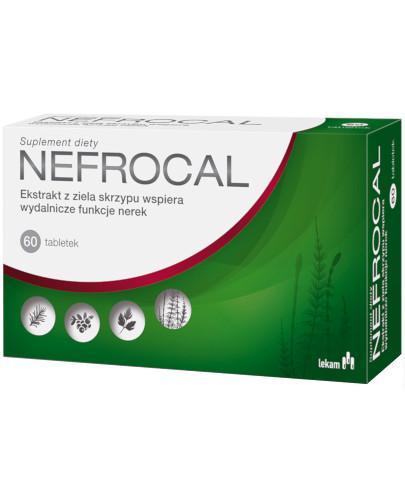 Nefrocal ekstrakt z ziela skrzypu 60 tabletek