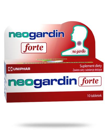 Neogardin Forte 20 tabletek do ssania