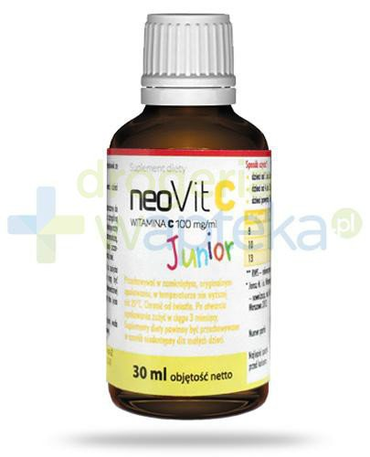 NeoVit C Junior witamina C 100mg/ml krople doustne 30 ml