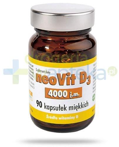 NeoVit D3 4000j.m. witamina D 90 kapsułek