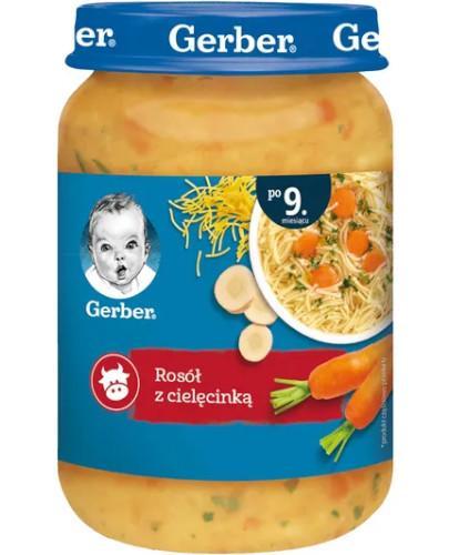 Nestlé Gerber Rosół z cielęcinką po 9 miesiącu 190 g