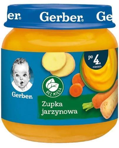 Nestlé Gerber Zupka jarzynowa po 4 miesiącu 125 g