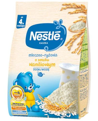Kaszka mleczno-ryżowa Nestlé o smaku waniliowym po 4 miesiącu 230 g [Data ważności 31-01-2019]