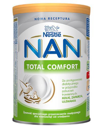 NESTLE NAN EXPERT Total Comfort dla niemowląt z tendencją do zaparć od urodzenia 400 g