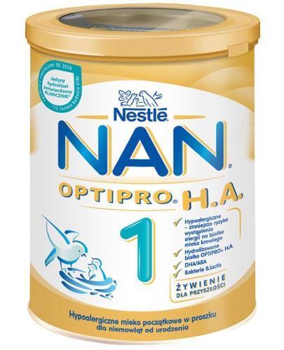 Hypoalergiczne mleko początkowe w proszku dla niemowląt od urodzenia 400g