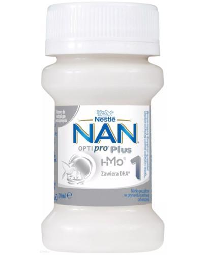 NESTLE NAN OPTIPRO Plus 1 HM-O mleko początkowe w płynie 70 ml