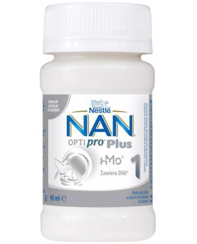 NESTLE NAN OPTIPRO Plus 1 HM-O mleko początkowe w płynie 90 ml