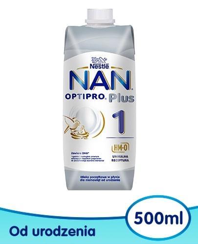 NESTLE NAN OPTIPRO Plus 1 mleko początkowe w płynie 500 ml