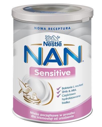 NESTLE NAN Sensitive mleko początkowe od urodzenia 400 g