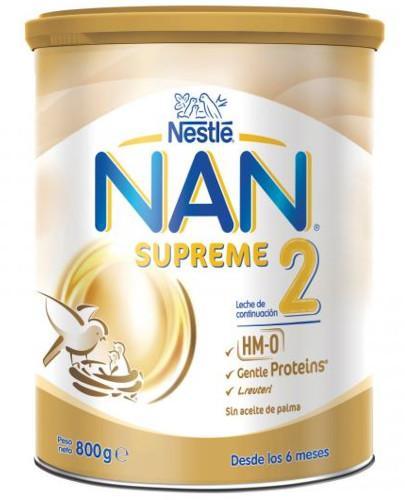 NESTLE NAN SUPREME 2 HM-0 mleko następne 800 g