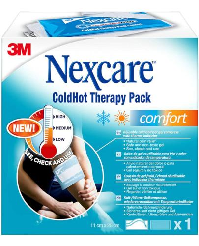 Nexcare Cold Hot Comfort Pack zimno-ciepły okład 11cm x 26cm 1 sztuka