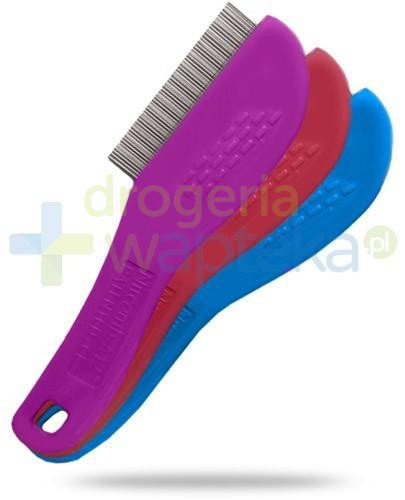Nitcomb-M2 grzebień dwurzędowy przeciw pasożytom skóry głowy 1 sztuka [01061]