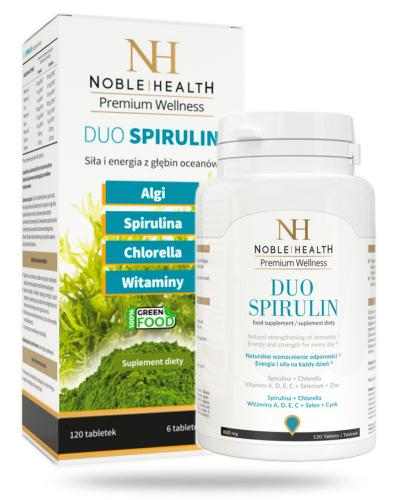 Noble Health Duo Spirulin 120 tabletek