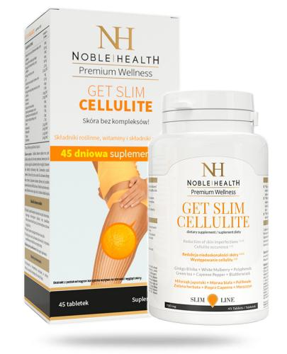Noble Health Get Slim Cellulite 45 tabletek