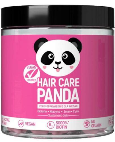 Noble Health Hair Care Panda witaminy na włosy w żelkach 300 g