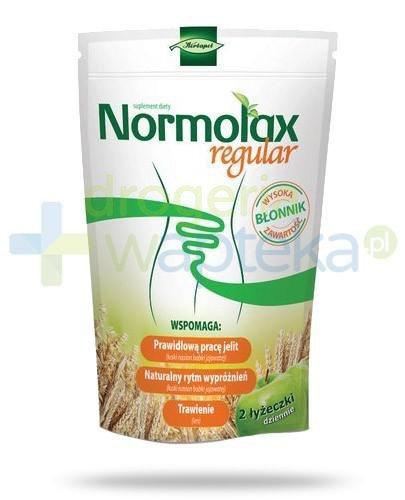 Normolax Regular proszek o smaku jabłkowym 100 g