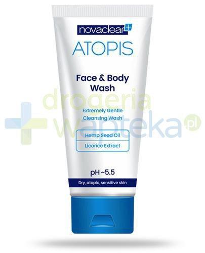 NovaClear Atopis Face&Body Wash płyn do mycia twarzy i ciała 200 ml